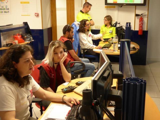 117 nuevos técnicos de emergencias sanitarias han realizado prácticas en el Servicio del 1-1-2