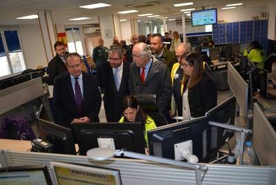 La Diputación felicita al 112 en la celebración del Día Europeo del Servicio