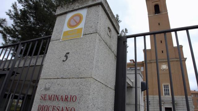 Entrada al Seminario de Ciudad Real