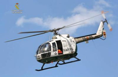 Un helicóptero de la Guardia Civil / Archivo