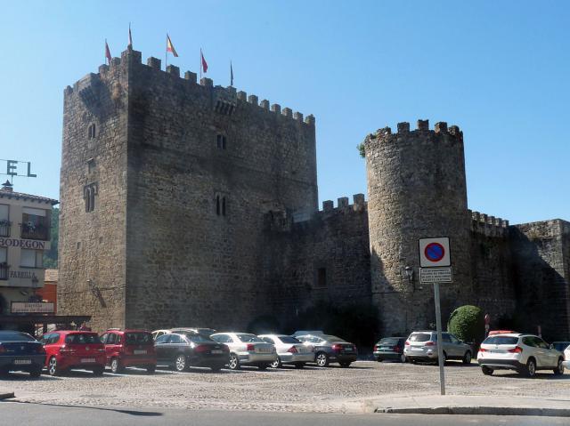 Castillo del Condestable Dávalos en Arenas de San Pedro (Ávila)