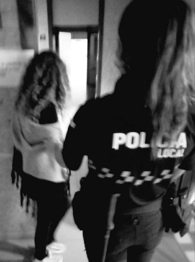 TOLEDO   Detenida por morder a su pareja tras una fuerte discusión en plena calle