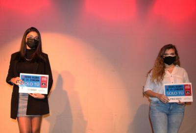 TALENTO TALAVERANO | Marta Tomás gana el IV Concurso de Canto 'Solo Tú' en Navalmoral
