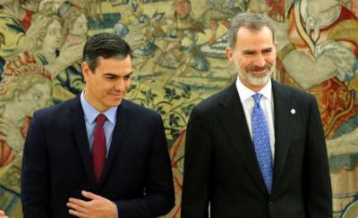 Pedro Sánchez comunica hoy al Rey su Gobierno y ofrece una declaración institucional