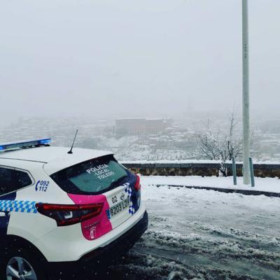 NIEVE | Uso de cadenas obligatorio en Toledo