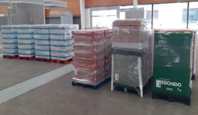 TALAVERA | Mercadona dona más de 8 toneladas de alimentos a Cáritas