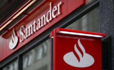Sucursal del Banco Santander   Foto: Bloomberg