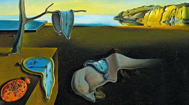 La persistencia de la memoria o Los relojes blandos, de Salvador Dalí (1931) /(Fundación Gala-Dalí)