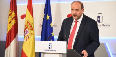 El vicepresidente primero del Gobierno de Castilla-La Mancha, José Luis Martínez Guijarro, en na imagen de archivo