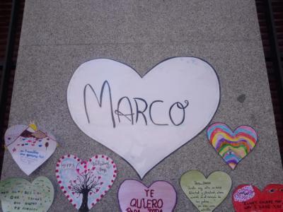 TALAVERA | Corazones y mucho amor en el colegio Cristóbal Colón en memoria del pequeño Marco (fotos)