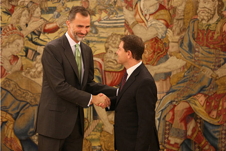 El rey Felipe VI se reunirá este jueves con Emiliano García-Page
