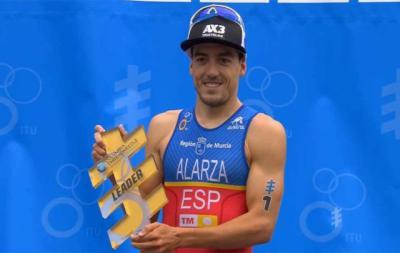 Alarza puede ser campeón del mundo de triatlón este sábado en Rotterdam