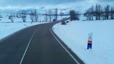 El fin de semana termina sin accidentes de tráfico en CLM, a pesar de la presencia de la nieve