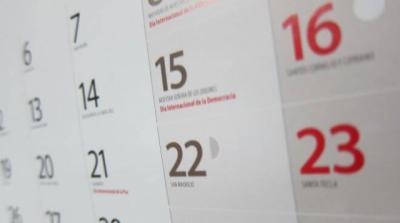 REGIÓN | ¿Qué días han sido establecidos como festivos para 2021?