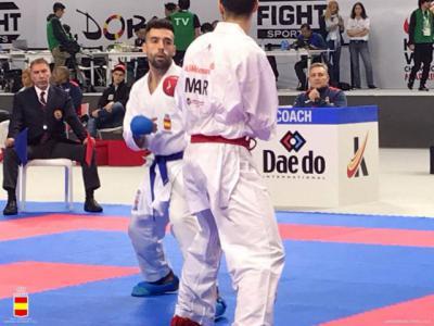 El talaverano Raúl Cuerva, plata en el Campeonato de España de Kárate