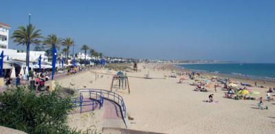 Playa de La Barrosa en Cádiz / Ayuntamiento de Chiclana
