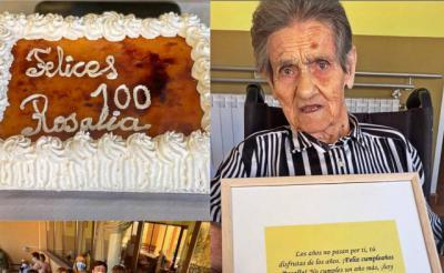 CENTENARIA | ¡Felicitamos a Rosalía García Chico!