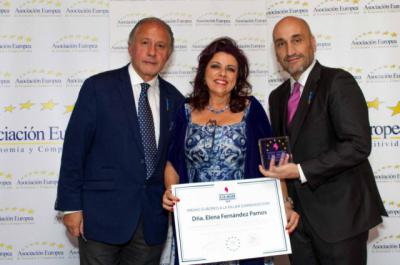 La talaverana Elena Fernández, Premio Europeo a la Mujer Emprendedora