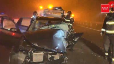 Prisión provisional para el conductor que provocó la muerte de un conductor por ir en dirección contraria en la A-5