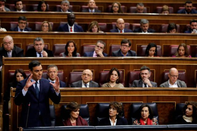 Sánchez pierde la primera votación de investidura al no lograr mayoría absoluta