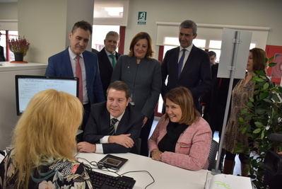 La nueva Oficina de Empleo de Talavera, más moderna y trato directo