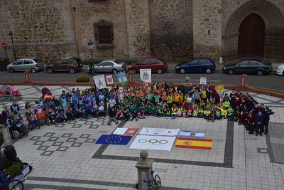 Alumnos de 7 colegios ''cubrirán' los 18.487 km que separan Talavera y Tokio