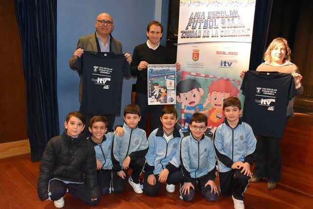 Todo listo para la puesta en marcha de la Liga Escolar de Fútbol 'Ciudad de la Cerámica'