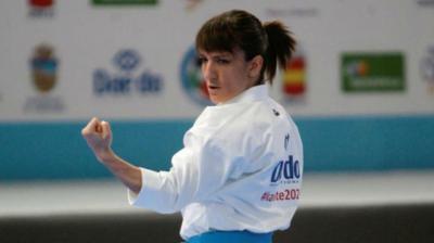La karateka talaverana.
