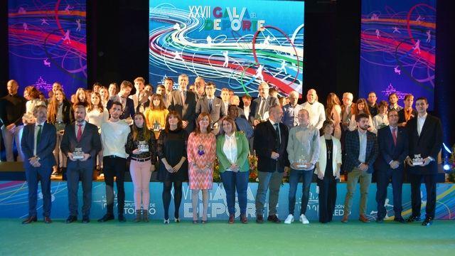 Talavera vive la Gala del Deporte de la Diputación