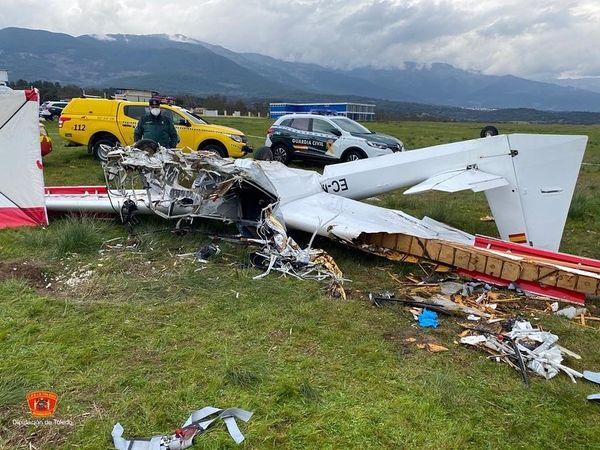 LA IGLESUELA | Los fallecidos en el accidente aéreo, un instructor y su alumno