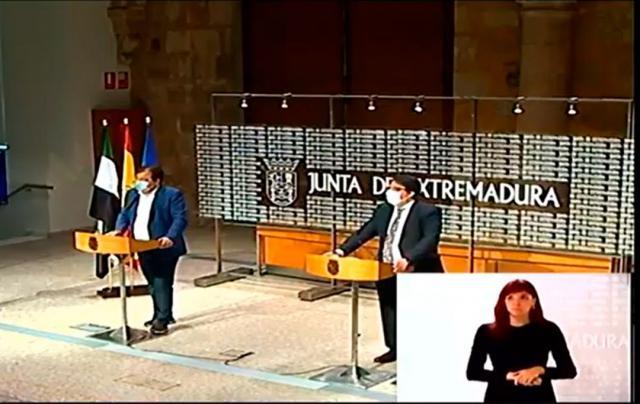 ÚLTIMA HORA | Extremadura también pide el estado de alarma para decretar el toque de queda