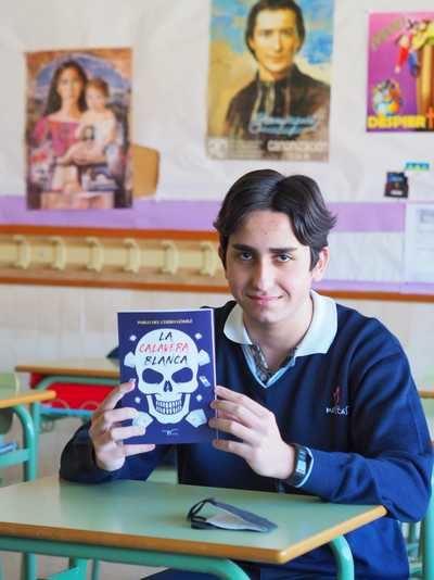 CULTURA | Pablo del Cerro, estudiante talaverano de 14 años, publica su primera novela