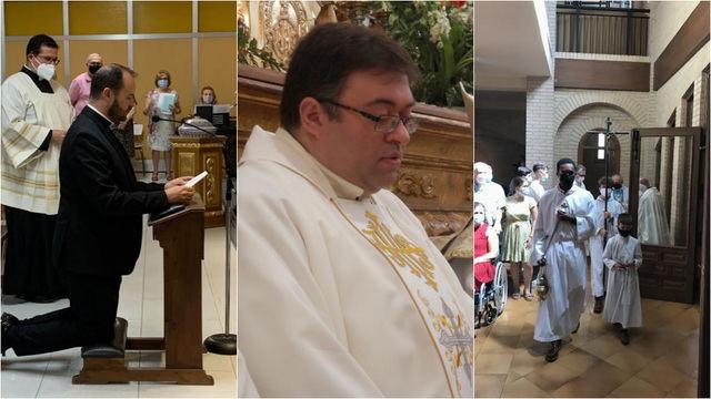 Tres nuevos párrocos para Talavera