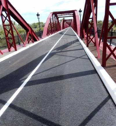 TALAVERA | Mañana se abre al tráfico el Puente de Hierro