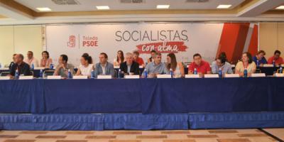La Comisión Federal de Listas del PSOE avala las propuestas para presidir diputaciones de la región