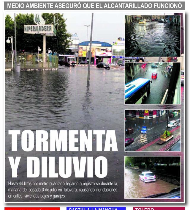 HEMEROTECA | Así fue el mes de julio de 2014 (III)