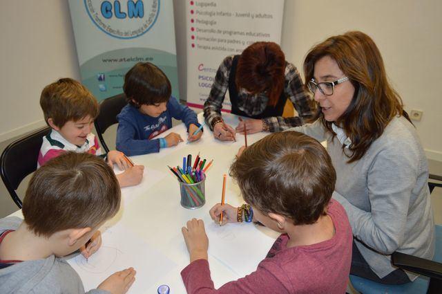 ATEL CLM y UCLM colaboran en un estudio en niños con Trastorno Específico del Lenguaje