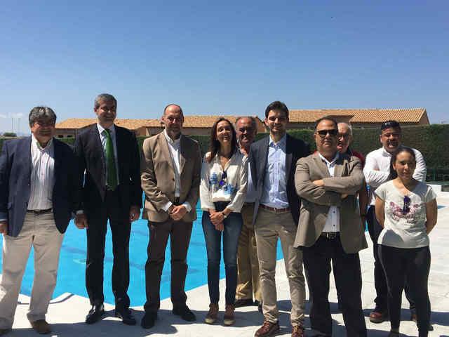Montearagón inaugura su piscina tras las mejoras realizadas con fondos Leader
