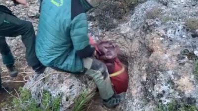 Rescatan el cuerpo del espeleólogo fallecido en Riópar