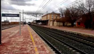 Fallece el hombre golpeado por un tren en Villarrobledo