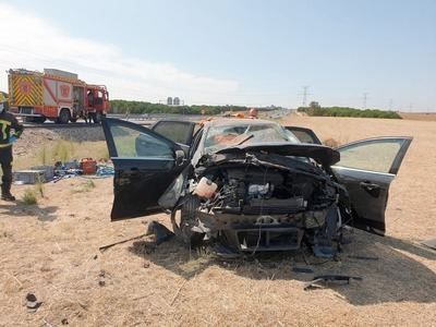 ÚLTIMA HORA | Dos accidentes seguidos en la A-5 en Maqueda