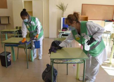 Otro millón de euros en la limpieza de colegios de la provincia por la Covid