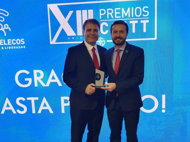 El Colegio Oficial de Ingenieros de Telecomunicaciones premia el liderazgo del Gobierno de C-LM en el despliegue de redes de última generación