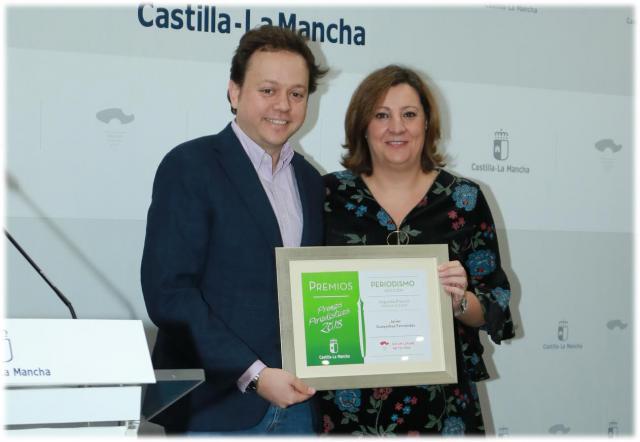 El periodista talaverano Javier Guayerbas, premio periodístico de Castilla-La Mancha