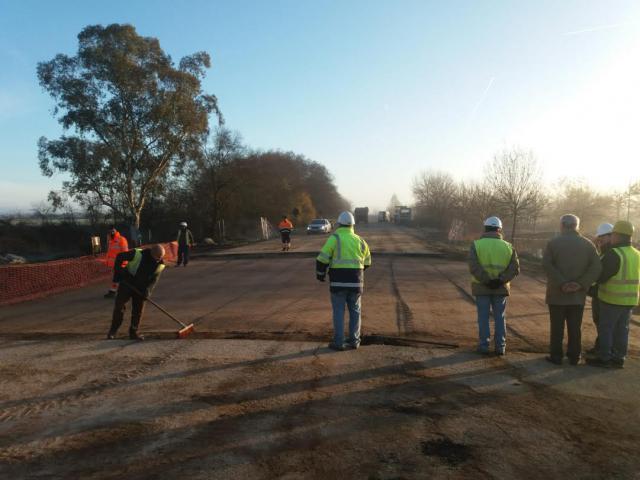 Se adelanta la apertura de la carretera Nacional V