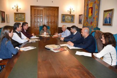 Reunión de Tita García y el Sindicato de Policías Locales CLM