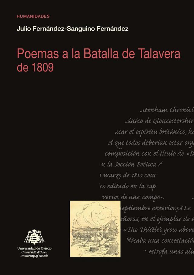 'Poemas a la Batalla de Talavera de 1809', el nuevo libro Julio Fernández-Sanguino Fernández