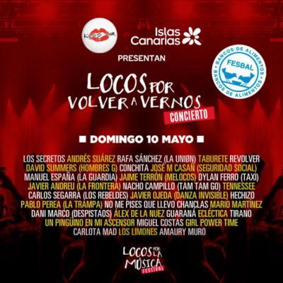 MÚSICA | 'Locos por volver a vernos', el concierto que te regalan Islas Canarias y KISS FM