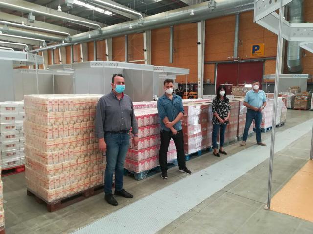 TALAVERA | Grupo San Peter dona 10.000 kilos de alimentos