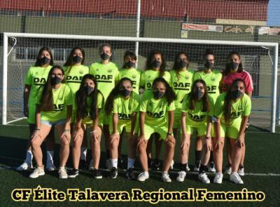 FÚTBOL | El CF Élite Talavera presenta a su equipo femenino y al Juvenil Nacional